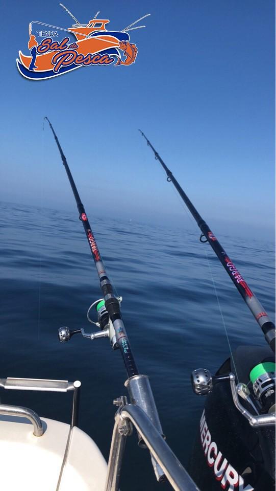 Probando materiales de Tienda Sal de Pesca
