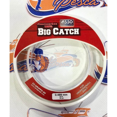 ASSO BIG CATCH FLUOROCARBONO 50YD
